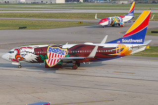 Southwest Boeing 737-700 N918WN KCMH 06JUL15