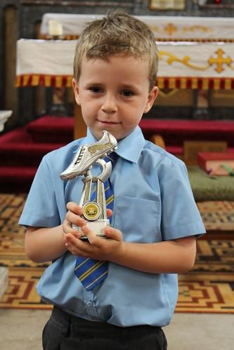 award Harry football trophy