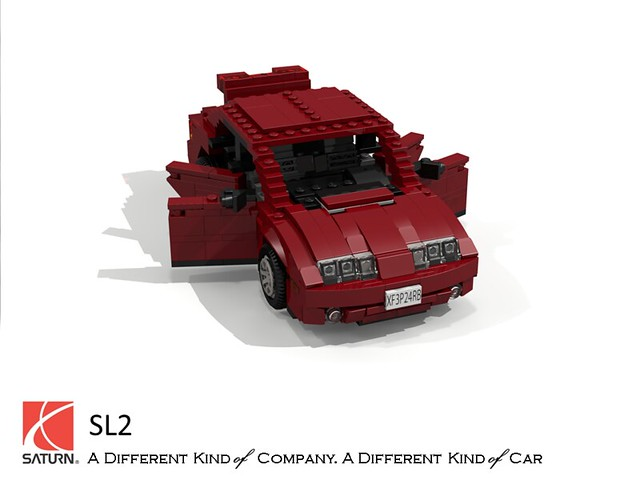 auto usa car america sedan us model gm lego stuck general render 1996 motors sl corporation saturn saloon challenge 92 1990s sl2 90s compact cad lugnuts povray sseries moc ldd miniland lego911 stuckinthe90s