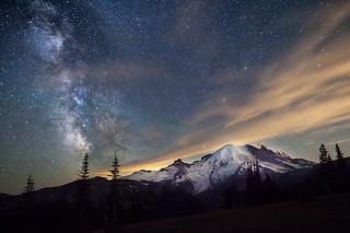 Milky Way & The Mountain