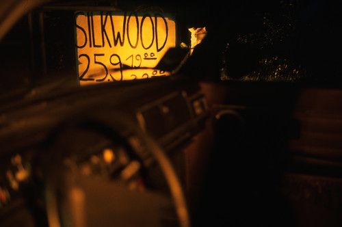 """Filmwerbe-Dia """"Silkwood"""" (03) • <a style=""""font-size:0.8em;"""" href=""""http://www.flickr.com/photos/69570948@N04/19627599112/"""" target=""""_blank"""">View on Flickr</a>"""