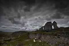 Foggintor Quarry (yadrad) Tags: southwest silhouette clouds ruins sheep ruin devon dartmoor quarry dartmoornationalpark thewestcountry foggintor canon5dmk2 foggintorquarry