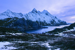 Norwegian Nights - Velvia 50 exp* (magnus.joensson) Tags: mountain norway zeiss landscape nikon fuji outdoor 28mm norwegian velvia mountainside 50 nikonfe exp distagon mountainpeak zf2 exp2006