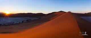 Dawn Over Namib
