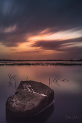 I was here... (Gladson777) Tags: life sunset sea portrait cloud india blur reflection bird nature rock landscape leaving long exposure very quote mark sony crap maharashtra serene alpha mumbai streaks suncity a58 vasai eplore explored