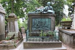 Théodore Géricault / Cimetière du Père Lachaise
