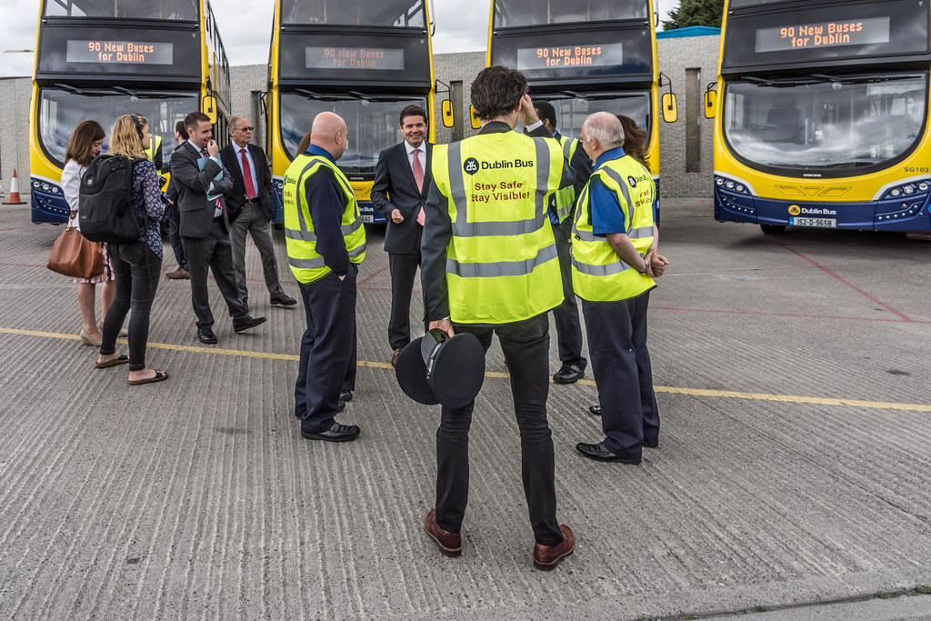 90 NEW BUSES FOR DUBLIN CITY [AUGUST 2015] REF-106955