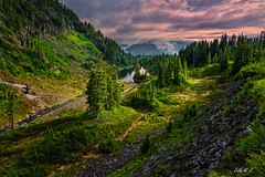 North Cascades National Park (Celia W Zhen) Tags: northcascadesnationalpark celiawzhen cloud sky landscape mountain water hill natural travel outdoor