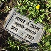 Oliver Hardy in ground marker (katerz1) Tags: fone valhallamemorialpark