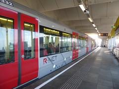 There goes my Metro (prondis_in_kenya) Tags: rotterdam netherlands winter ssrotterdam metro exterior platform train rijnhaven