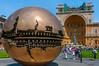 Sphere Within Sphere (Daniel Poon 2012) Tags: roma lazio italy sphere within by arnaldo pomodoro musictomyeyes artistoftheyear nikonflickraward simplysuperb nationalgeographic ngc blinkagain blinkstomyeyes bydanielpoon danielpoonca