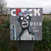 Check the grid on that! (id-iom) Tags: idiom graffiti vandalism street art urban check grid teeth real