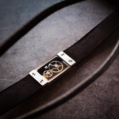 DSC_2460 (alexandre.lard) Tags: 365 365project day6 birthday gift jewel gears clockwork freelensing 50mm nikon beautiful textures bracelet mecanisme