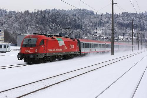ÖBB 1216 012-5 Eurocity, Kufstein