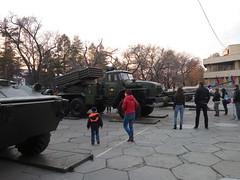 Military exebition,Khabarovsk,spring 2016 (pavelnkhv) Tags: military exebition rocketlauncher 2016