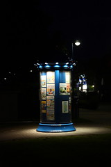 advertising pillar at night (mtiger88) Tags: butjadingen deu deutschland geo:lat=5357826396 geo:lon=824663401 geotagged niedersachsen tossenserdeich mtiger mtiger88 2016 owersaxony capitalcity city stadt stadtteil quarter districtwesermarsch kreiswesermarsch nordseeküste northseacoast wasser water meer sea halbinsel peninsula freitzeit leisure travels holiday urlaub ausflug trip travel reise nature natur himmel sky landscape landschaft panorama sonnenuntergang sunset sundown strand beach nachtaufnahme nightphotograph nightshot abenddämmerung twilight tossens advertisingpillar litfassäule litfasssäule