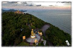 Thailand (reinhard111) Tags: wat tempel meer berge tempelanlage thailand