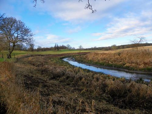 GOC Watton-at-Stone to Stapleford 044: River Beane, Woodhall Park