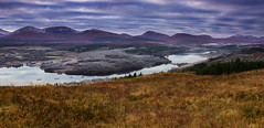 Highland panorama (snowyturner) Tags: loch highlands scotland trees frost mountains invergarry grass clouds landscape