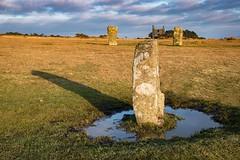 The Hurlers (Evoljo) Tags: hurlers stones moor bodminmoor ancient cornwall sky grass water nikon d500