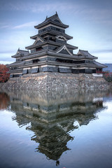 161113_Matsumoto_055_6_7_tonemapped (louisalexis) Tags: japon japan novembre november matsumoto chateau castel 松本城 xvie siècle