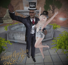 Happy New Year from us! (αиα ¢αραℓιиι) Tags: secondlife