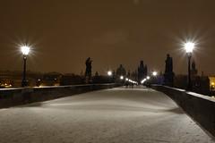 DSC01027 (iglounek) Tags: charles bridge night sony rx100 snow winter iglounek