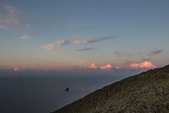Stromboli 18 (gsamie) Tags: 600d aeolianislands canon guillaumesamie isoleeolie italy rebelt3i sicilia sicily stromboli vulcano clouds forest gsamie sea strombolicchio sunset volcano