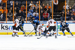 "Missouri Mavericks vs. Wichita Thunder, January 6, 2017, Silverstein Eye Centers Arena, Independence, Missouri.  Photo: John Howe / Howe Creative Photography • <a style=""font-size:0.8em;"" href=""http://www.flickr.com/photos/134016632@N02/32191506526/"" target=""_blank"">View on Flickr</a>"