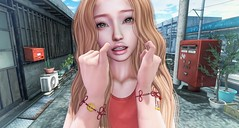 Double Promise (clau.dagger) Tags: naminoke 波野家 souleiado bracelets accessories secondlife fashion style japan entwined insol catwa slink vista villena no13 boon soy infiniti nantra ai