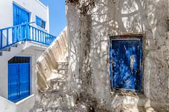 Blue (Kevin R Thornton) Tags: architecture d90 mediterranean greece nikon mykonos travel blue mikonos egeo gr