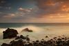 (RicardoPestana2012) Tags: sea seascape longexposure sunset madeira madeiraisland cobblestone beach