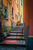 The Red Chair (Vic Zigmont) Tags: lerici italy red colorful italianarchitecture architecture