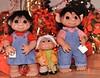 Trolls - Christmas 2016 (b.s. Shaman) Tags: yule christmas holiday denmark dam troll doll camerabag flash lights decoration red flower holly three portrait seasonal cute