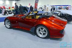 Marcos Mantis Spyder F14 GTS  GH5_5356 (Gary Harman) Tags: london classic car show excel gh gh4 gh5 gh6 gh7 gary harman cars nikon d800 photographer marcos mantis spyder 1997 standox red rocket f14gts