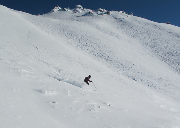 Thierry Huet Skiing, Treble Cone NZ (23 August 2013)