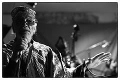 Sun Ra Arkestra @ Cafe Oto, London, 8th June 2015 (fabiolug) Tags: leica blackandwhite bw music london monochrome zeiss 50mm blackwhite concert hand live gig livemusic performance jazz rangefinder monochrom biancoenero dalston arkestra sunra sonnar sunraarkestra leicam marshallallen zeisssonnar 50mmf15 sonnar50mm cafeoto zeisscsonnar zeisszm50mmf15csonnar mmonochrom leicammonochrom leicamonochrom zeisscsonnartf1550mmzm cncprt directedbymarshallallen ledbymarshallallen cncprn