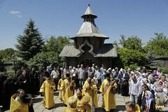 81. Patron Saint's day at All Saints Skete / Престольный праздник во Всехсвятском скиту