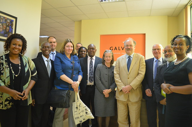 Thumbnail for The UK Chief Scientific Adviser, Sir Mark Walport's visit to GALVmed office in Nairobi