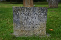 Stanley Spencer's Memorial Stone, Holy Trinity Church, Cookham, Berkshire (barry.marsh1944) Tags: church stone memorial holy trinity stanley spencer bershire