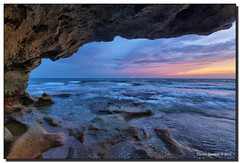 Cave Dweller (Fraggle Red) Tags: ocean morning water clouds dawn rocks florida cloudy overcast limestone lowtide hdr jupiterisland coquina hobesound martinco 7exp canonef1635mmf28liiusm blowingrockspreserve dphdr anastasiaformation jupitersound canoneos5dmarkiii 5d3 5diii adobephotoshopcs6 adobelightroom5