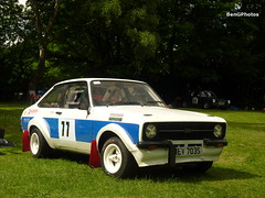 Mk2 (BenGPhotos) Tags: blue 2 white classic ford sports car sport race crystal outdoor mark palace racing barry vehicle strong mk2 1977 sprint motorsports escort motorsport mkii autosport 2015 wev703s motorsportatthepalace