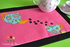 Toalha americana (Canteiro de Ideias) Tags: handmade artesanato toalha patchwork jogo americano costura