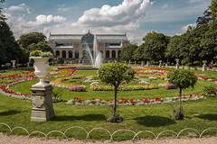 flora kln (maikepiel) Tags: park travel flowers sky green clouds germany garden deutschland flora colours pflanzen cologne himmel wolken blumen kln grn garten bunt farben