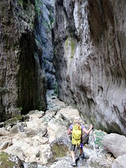 """Back through the narrows of the Celano Gorge • <a style=""""font-size:0.8em;"""" href=""""http://www.flickr.com/photos/41849531@N04/19753602925/"""" target=""""_blank"""">View on Flickr</a>"""