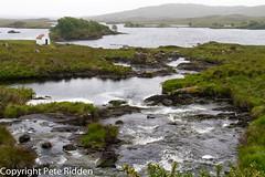 Misty Lough (pbr53) Tags: ireland lough rapids connemara