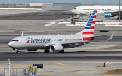 American Airlines Boeing 737-800 N940NN (JerryKSAN737) Tags: sanfrancisco airplane airport sfo aircraft jet american boeing airlines aa 737 aal planespotting 737800 ksfo internationalairport n940nn