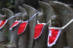 Jizo statues, Oku-no-in Koya-San