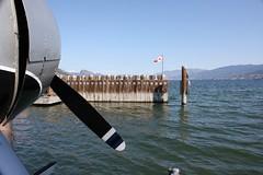 Single Prop (Beard&Glasses) Tags: canada canon rebel bc britishcolumbia okanagan beaver kelowna propeller xsi floatplane dehavilland 2015 lakeokanagan