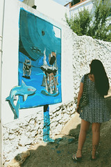 Fanzara y compañía. (Gatosaurio) Tags: wood old flowers boy wild summer cactus sky españa woman naturaleza house elephant man flores nature valencia girl beautiful car sunshine bike cat canon vintage landscape ginger town photo spain paint heaven day foto grafitti village dress guitar hill guitarra pueblo hipster picture bicicleta paisaje oldschool retro galaxy blond gato coche icecream villa graffitti bici campo pelirroja vestido galaxia elefante castellón readhair 70d fanzara
